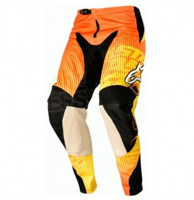 Pantalón Alpinestars Charger Orange Red Yellow