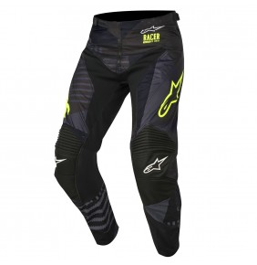 Pantalón Alpinestars Racer Tactical Black Yellow Fluo 2018
