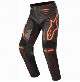 Pantalón Alpinestars Racer Tactical Black / Gray Camo / Orange Fluo