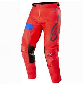 Pantalón Alpinestars Racer Tech Atomic Red / Dark Navy / Blue
