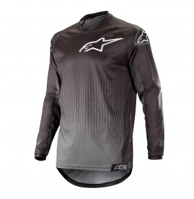 Camiseta Alpinestars Racer Graphite Black / Anthracite 2019