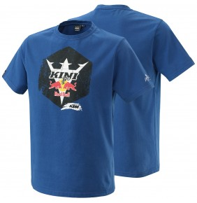 Camiseta KTM Kini Red Bull Hex Tee Blue 2021