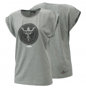 Camiseta Chica KTM Kini Red Bull Grey Tee 2021