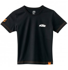 Camiseta Niño KTM Kids Racing Tee Black