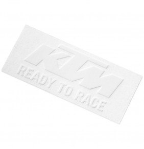 Adhesivo KTM Logo Sticker White