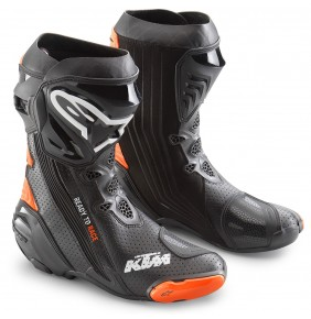 Botas KTM Alpinestars Supertech R Boots Black / Orange