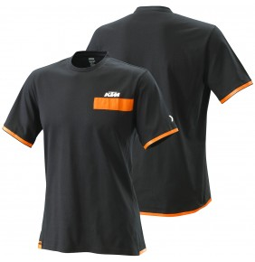 Camiseta KTM Pure Tee Black 2020
