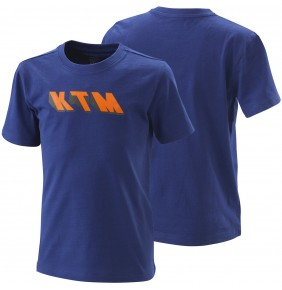 Camiseta Niño KTM Kids Radical Tee Blue 2020