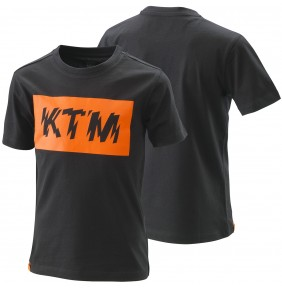 Camiseta Niño KTM Kids Radical Logo Tee Black 2020