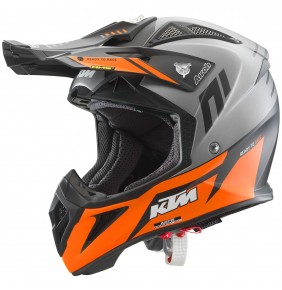 Casco KTM Airoh Aviator 2.3 AMS² Orange / Grey 2021