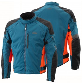 Chaqueta KTM Street Evo Jacket Blue / Orange