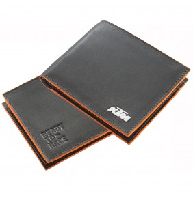 Cartera Cuero KTM Pure Leather Wallet