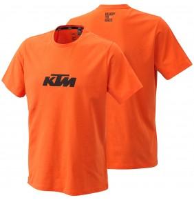 Camiseta KTM Pure Logo Tee Orange 2021