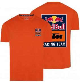 Camiseta Red Bull KTM Racing Team Backprint Orange