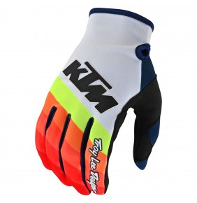 Guantes KTM Troy Lee Designs SE PRO Mirage White / Red 2020