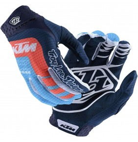 Guantes KTM Troy Lee Designs Air Gloves Navy / Ocean 2020