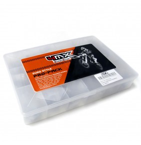 Kit de Tornilleria 4MX Racing Parts PRO-PACK Euro Style 160 Piezas KTM / Husaberg / Husqvarna