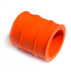 Goma Unión Escape 4MX Naranja 30 mm