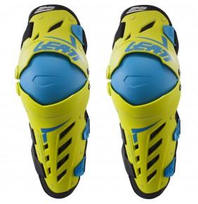 Rodilleras Articuladas Leatt Dual Axis Lime / Blue