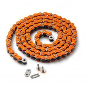 Cadena Reforzada KTM MX Naranja (5/8 x 1/4)