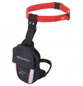 Bolsa de Pierna Alpinestars Access Thigh Bag Black / Red / White