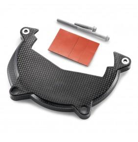 Protector Tapa de Embrague en Carbono KTM
