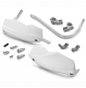 Paramanos en Aluminio KTM 790 Adventure / R Blancos