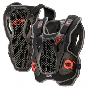 Peto Alpinestars Bionic Action Chest Protector Black / Red