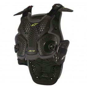 Peto Alpinestars A-4 Chest Protector Black / Anthracite