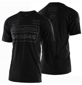 Camiseta Gas Gas Troy Lee Designs Team Tee Black