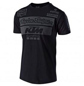 Camiseta KTM Troy Lee Designs Team Black