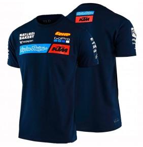 Camiseta KTM Troy Lee Designs Team Navy 2020