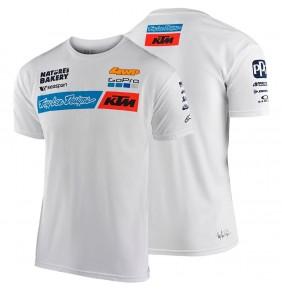 Camiseta KTM Troy Lee Designs Team White 2020