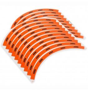 Juego de Adhesivos para Llantas KTM Orange
