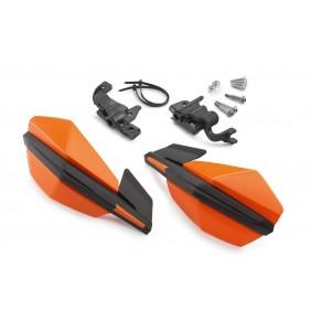 Paramanos KTM MX Naranjas - Fijación a los Mandos