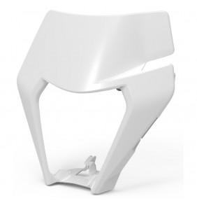 Máscara Portafaro KTM EXC / XC-W 2020 Blanca
