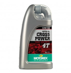 Aceite Motor Motorex Cross Power 4T 10W/50