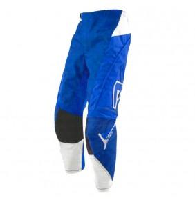 Pantalón Niño Acerbis Impact Blue / White