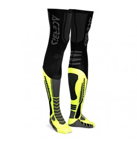 Calcetines Acerbis MX Socks X-Leg Black Yellow Fluo