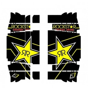 Adhesivos Rejillas radiador Blackbird Rockstar SX/SX-F 16-18 EXC/EXC-F 17-19