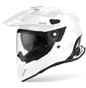 Casco Airoh Commander Color White Gloss 2021
