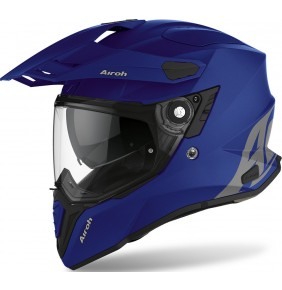 Casco Airoh Commander Color Blue Matt 2021