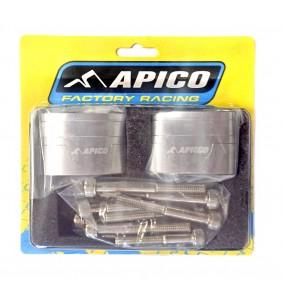 Alza Manillar Apico 28.6 mm Silver