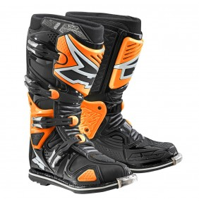 Botas Articuladas Axo A2 Off Road Black Orange