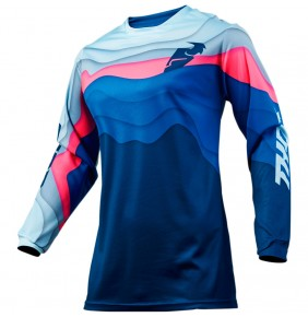 Camiseta Chica Thor Pulse Depths Ocean / Pink Jersey 2019