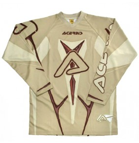 Camiseta Acerbis Profile Brown