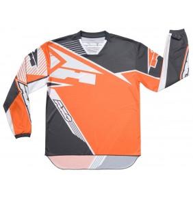 Camiseta Axo SR Jersey Grey Orange