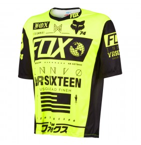 Camiseta Fox Demo Union Fluo Yellow