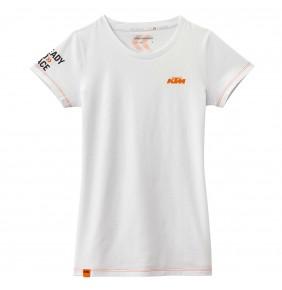 Camiseta KTM Girls Classic Tee White