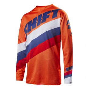 Camiseta Shift WHIT3 Tarmac Orange